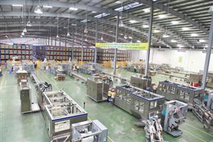 Nhà máy Vinasoy – Đường Quảng Ngãi – VSIP II A Bình Dương: 850 m2