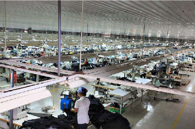 Thi công Nhà máy may Dự  phát – Hưng Yên: 6.000 m2