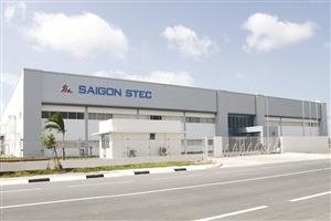 Thi công nhà máy Sài Gòn STEC giai đoạn 3 Tổng diện tích: 12.604m2