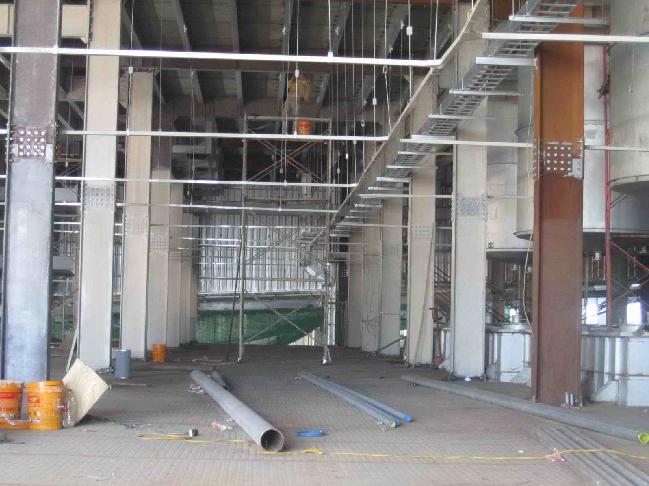 Thi công sơn chống cháy Công ty COATS Phong Phú tại, Q.9, TP.HCM Tổng diện tích 26.000 m2