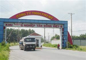 Dự án Khu Công Ngiệp Tân Đồng Hiệp B – Bình Dương