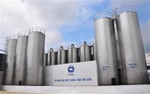 Thi công sơn chống cháy nhà máy sữa Vinami