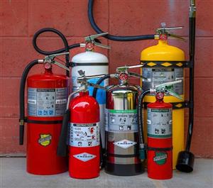 Danh sách vật tư phòng cháy chữa cháy đầy đủ nhất