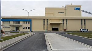 Hình ảnh dự án Nhà máy thạch cao KNAUF Hải phòng tại KCN Đình Vũ – Hải Phòng